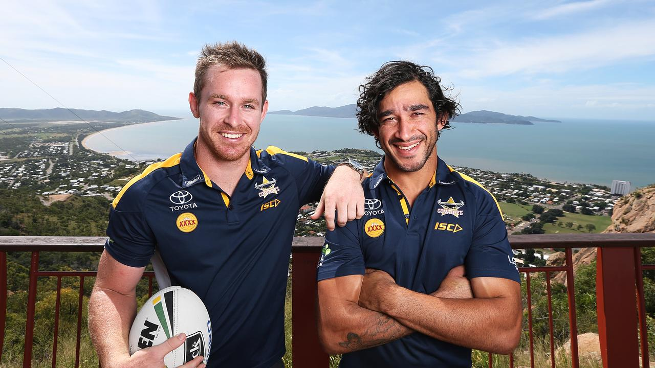 Morgan (left) is tasked with filling in for Thurston (right)