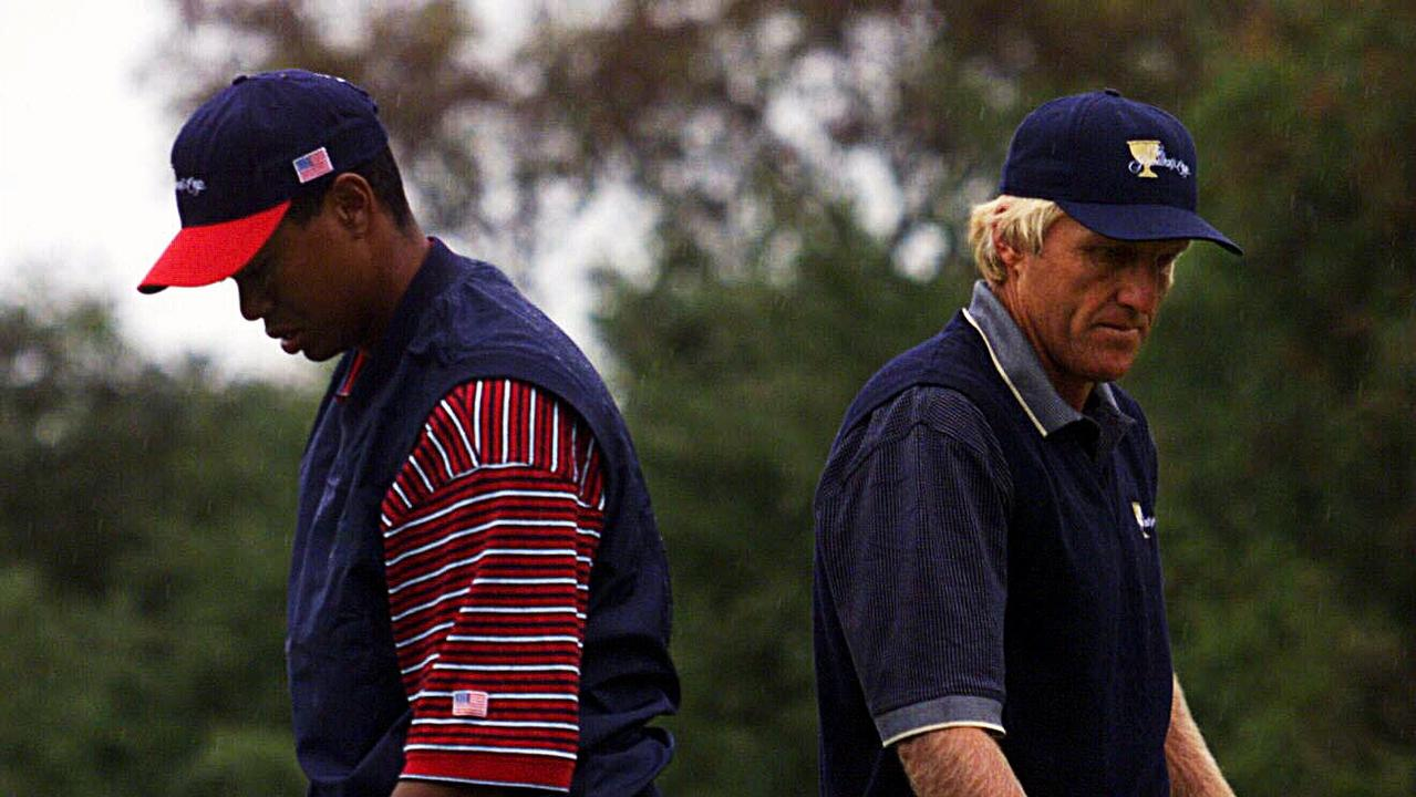 Tiger Woods and Greg Norman have never shared a relationship — and the latter has no idea why.