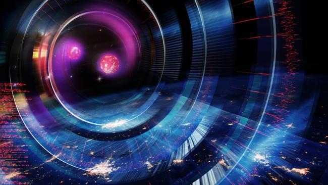 Artists impression of merging neutron stars Credit: Carl Knox, OzGrav