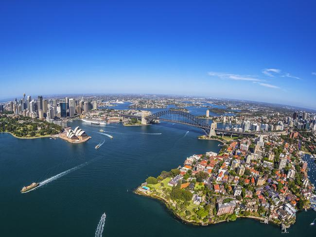 Oh Sydney, you're beautiful, but pricey. Picture: Destination NSW
