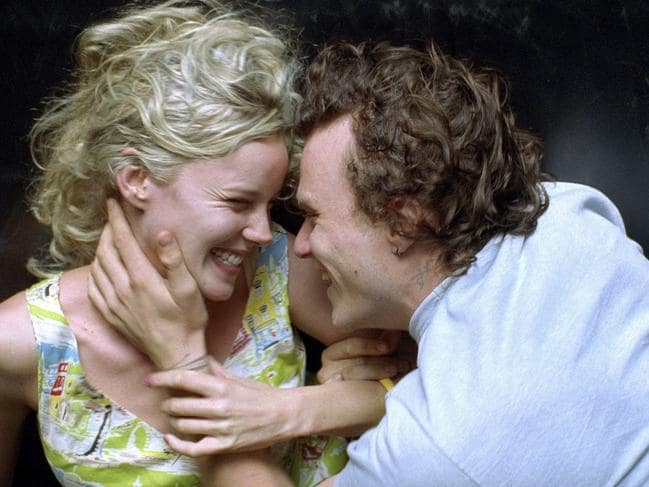 Abbie Cornish and Heath Ledger in Candy. Picture: Supplied