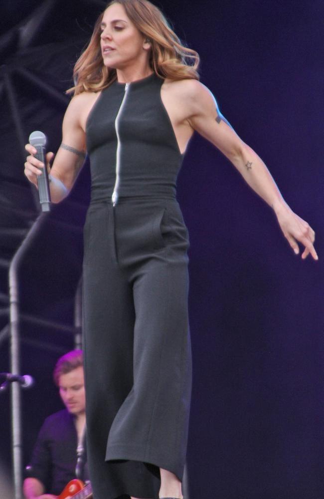 Melanie Chisholm looking amazing. Picture: Splash News