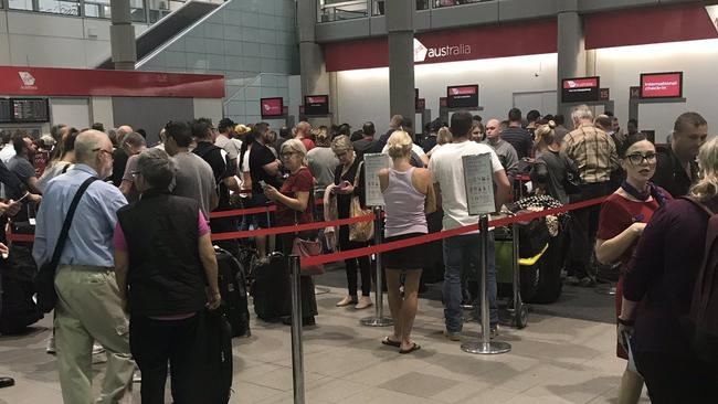 Airport delays for 'hours' after issues with Virgin