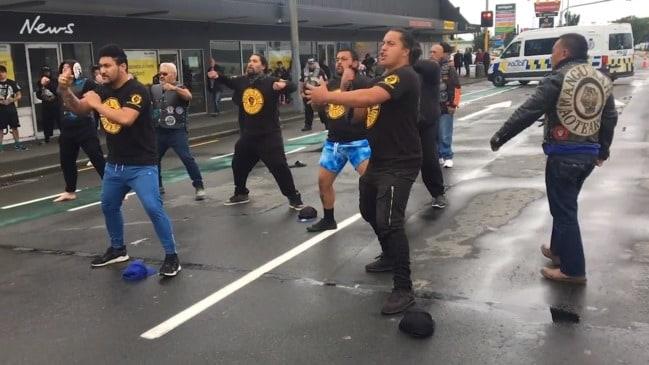 Christchurch Shootings Twitter: Christchurch Mosque Shooting: Black Power Gang Perform