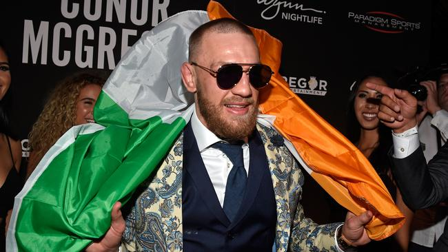 Conor McGregor attends his after fight party.