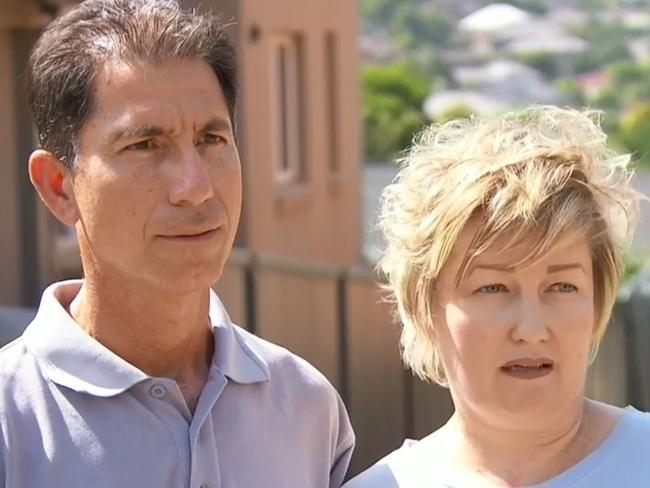 David and Melanie Marcellino. Picture: A Current Affair
