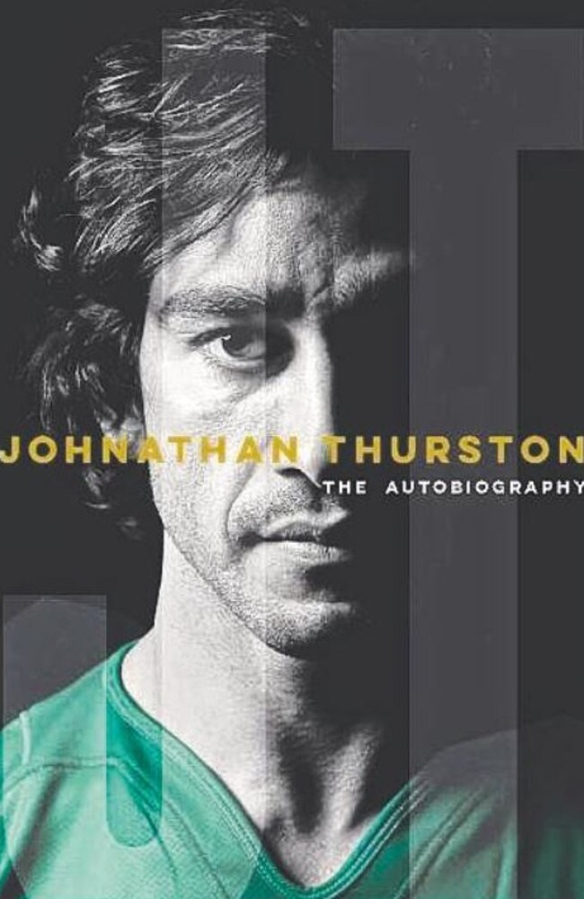 Johnathan Thurston: The Autobiography. Picture: Supplied