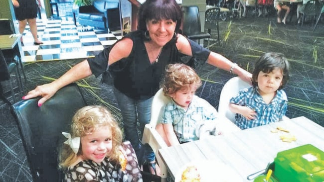 Lynette Foster is now enjoying life to the full with her grandchildren. Image: Supplied.