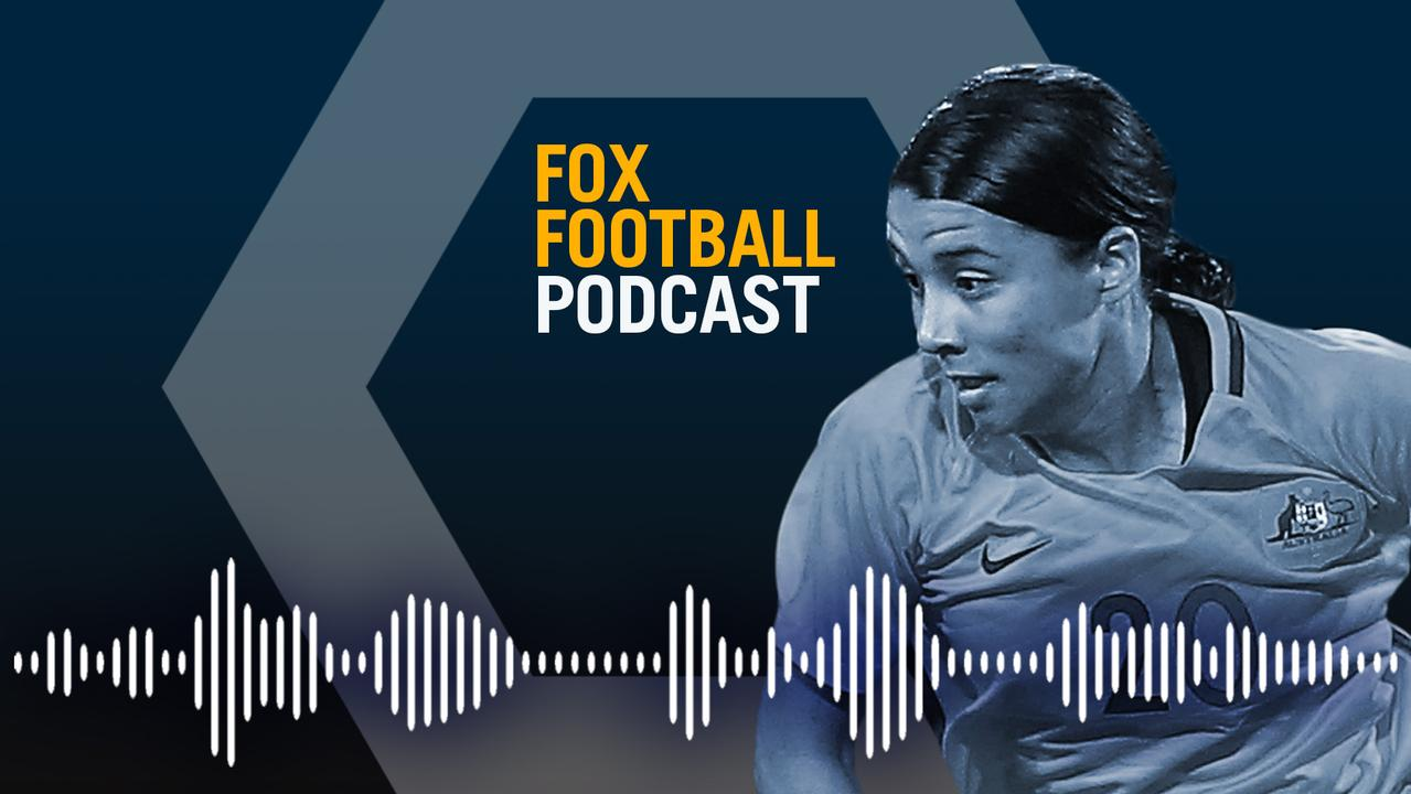 Sam Kerr speaks exclusively to Carly Adno on the Fox Football Podcast.