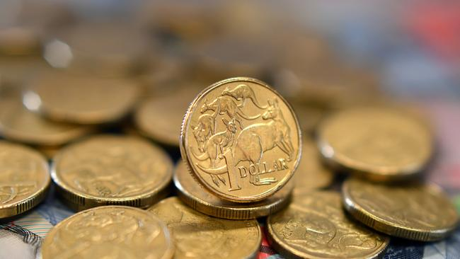 The Aussie dollar may be in long-term decline. Picture: Joel Carrett/AAP
