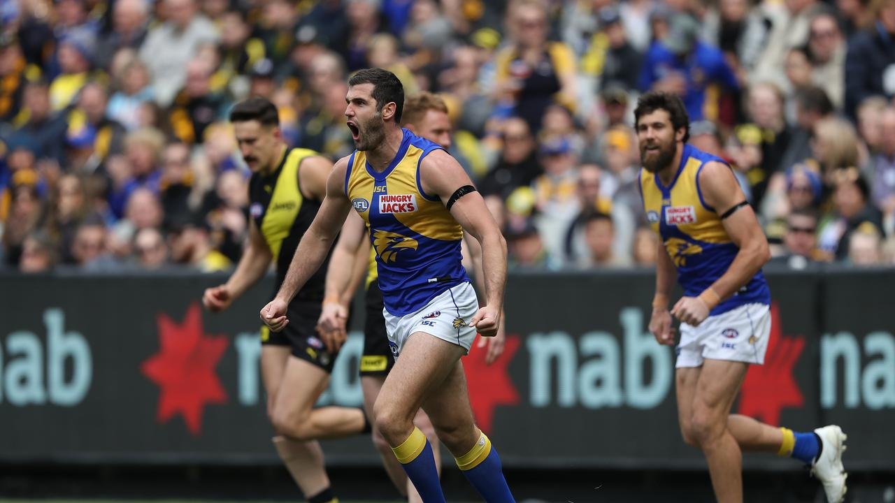 Jack Darling started the game on fire in the opening quarter.