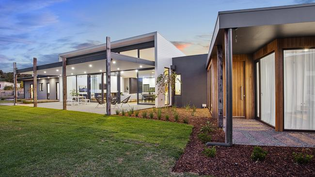 The house is designed for maximum outdoor connection.