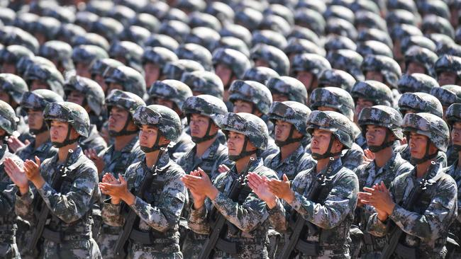 China is spending big on its military, but it's still nothing compared with the US defence budget.