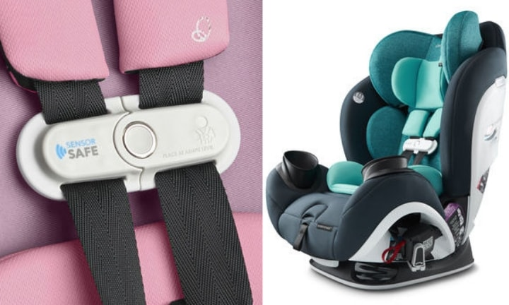 A new smart car seat is here and could save lives