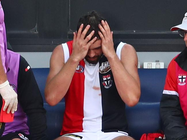 Paddy McCartin wasn't having a great afternoon.