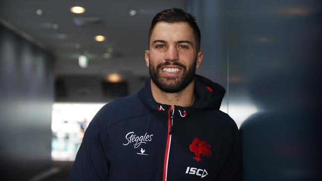 James Tedesco is about to play his first NRL game for the Roosters. Picture: Brett Costello.