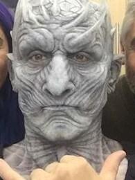 The Night King aka Vladimir Furdik in Game of Thrones. Picture: Instagram