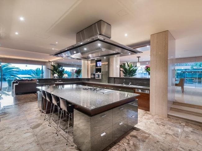 An amazing kitchen.