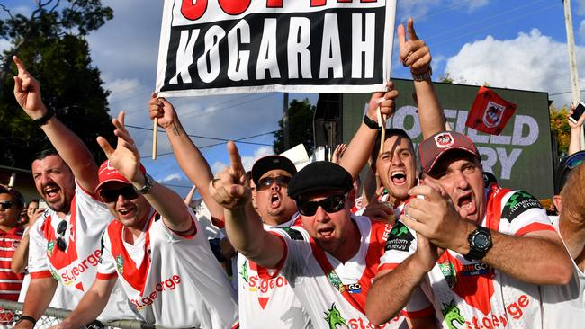 Dragons fans have bought the largest percentage of grand final tickets.