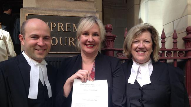 Congratulations to Corinne on becoming a lawyer.