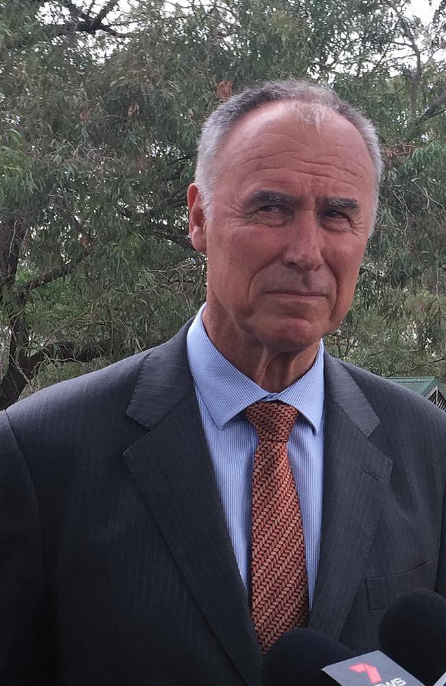 Former Federal member for Bennelong John Alexander. Picture: Gemma Najem