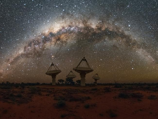 No conclusive links have yet been found between fast radio bursts and repeating FRBs.