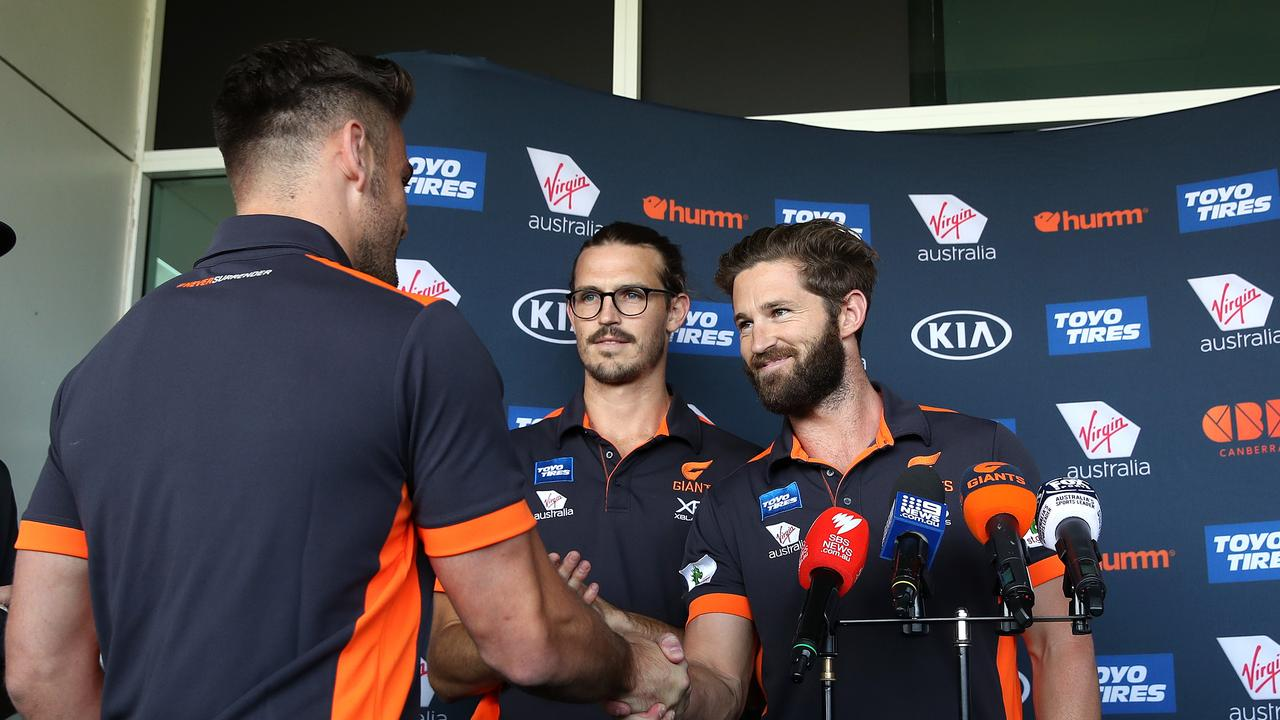 Stephen Coniglio announced as the new stand alone captain for the GWS Giants.