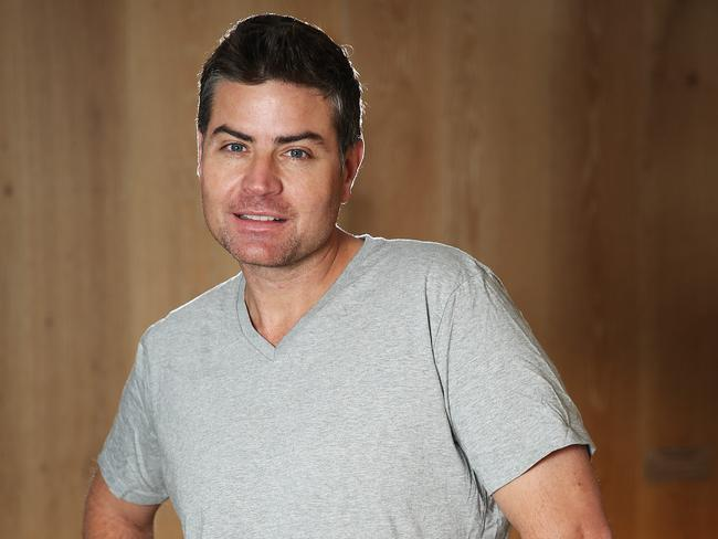Stu Laundy is single again. Picture: Network Ten