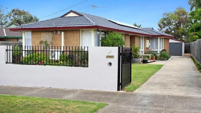 The property at 35 Dominic Pde, Melton, is on the market for $400,000-$430,000.