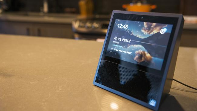 Google is expected to bring its own version of Amazon's Echo Show device to market. Picture: Daniel Berman