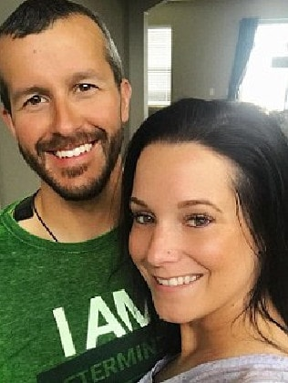 Chris Watts and wife, Shanann. Picture: Instagram