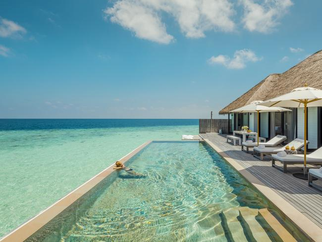 "The surf near COMO Maalifushi is ""unicorn-like"". Picture: Como Hotels"