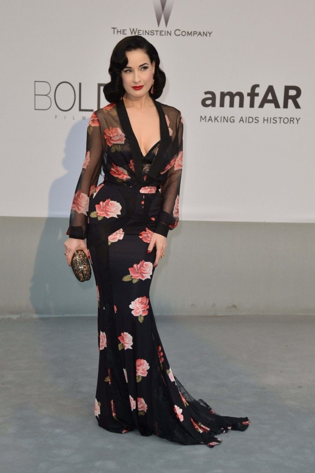 bfe7323bd Dita Von Teese on what she wears to bed and how to buy the perfect ...