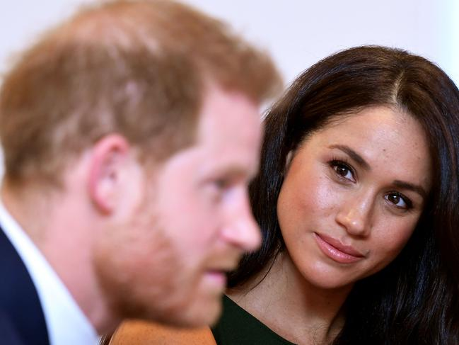 Prince Harry, Duke of Sussex, and Meghan, Duchess of Sussex have been hurt by his family. Picture: AFP\