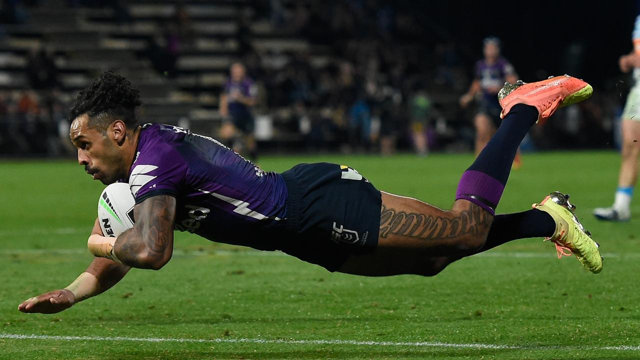 Josh Addo-Carr is the fastest man in rugby league.