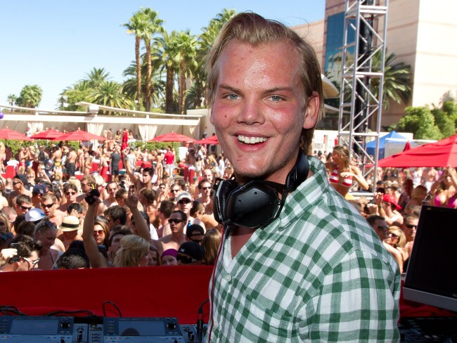 Avicii performs at a pool party in Las Vegas, 2011. Photo: KAB/RTN/MPI/Capital Pictures / MEGA