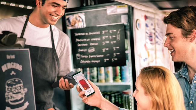 Westpac Bank has now signed up with Samsung Pay to let phone users pay for items by tapping a handset at the register.