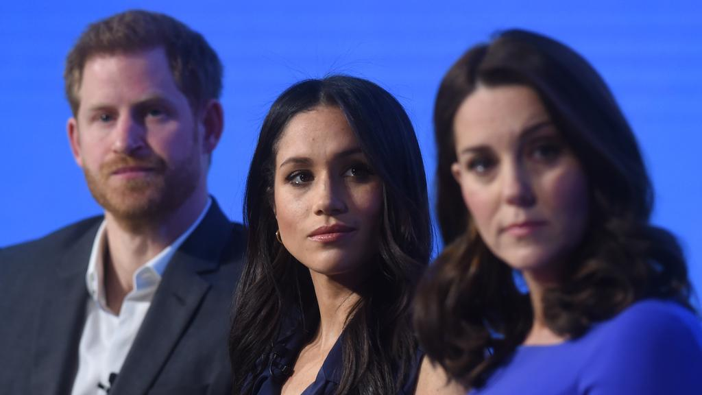 Meghan is said to have found it hard to accept that Kate Middleton's role as wife to the next in line was superior to her own. Photo: Eddie Mulholland – WPA Pool/Getty Images.