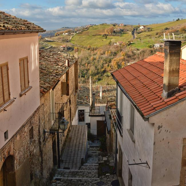 Zungoli Italy. One of the many small and peaceful villages of southern Italy. Picture: iStock