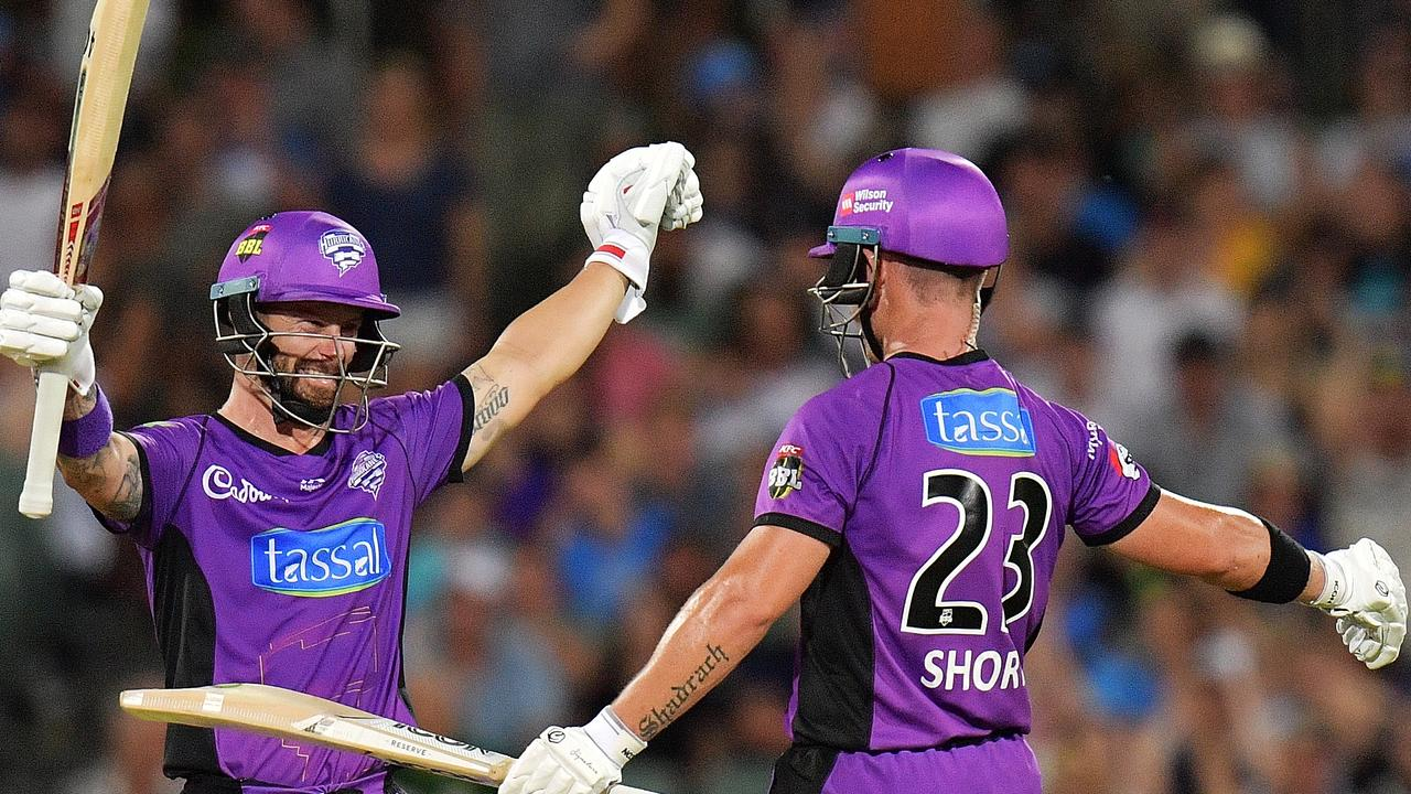 Matthew Wade's Hobart Hurricanes are through to the finals.