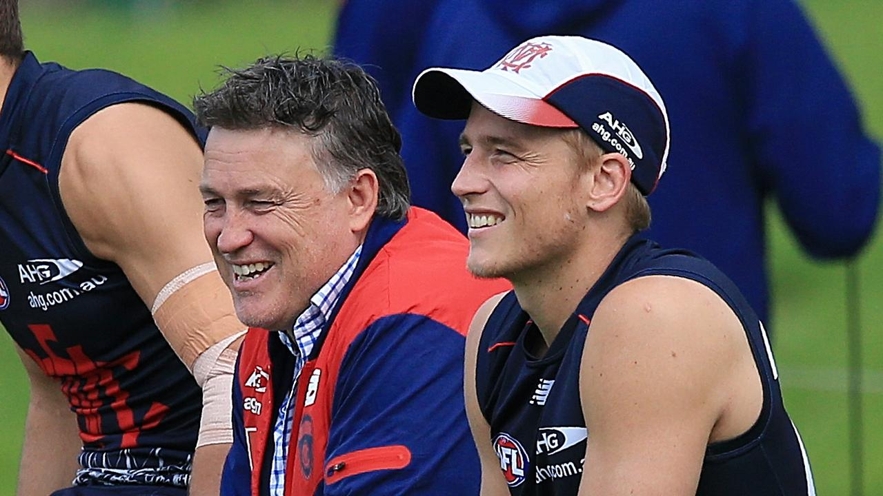 Todd Viney has left Melbourne. Picture: Wayne Ludbey