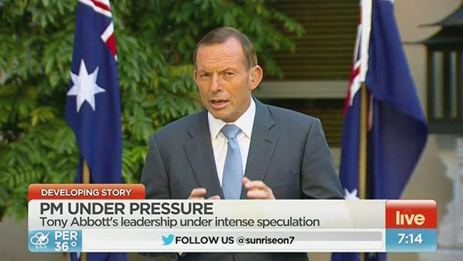 Kochie to Abbott: How have you become so unpopular?