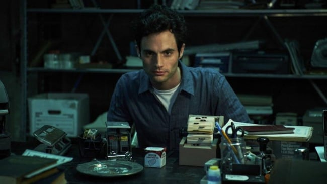 Casting good ol' Dan Humphrey was a very intentional move. Image: 'YOU' Netflix.