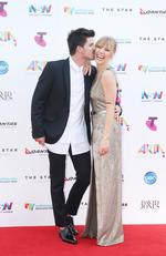 2015 ARIA AWARDS at The Star. Jess and Matt. Picture: Dylan Robinson