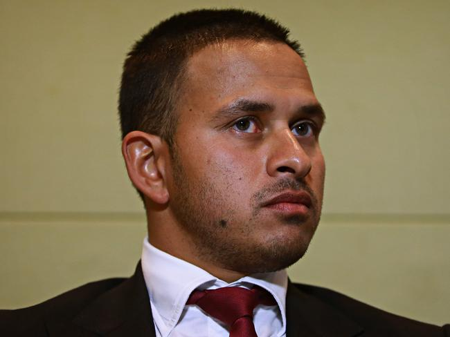 Khawaja isn't happy.
