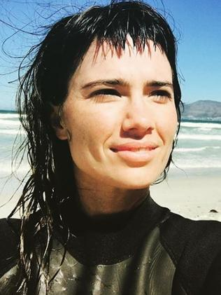 Gabrielle filmed her Trivago audition on a beach.
