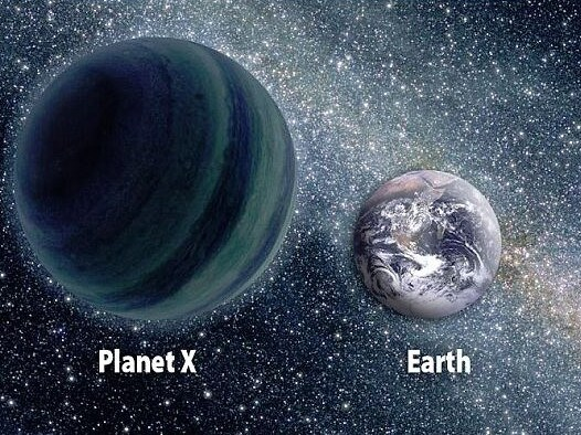 Planet X is thought to be four times the size of earth. Picture: NASA