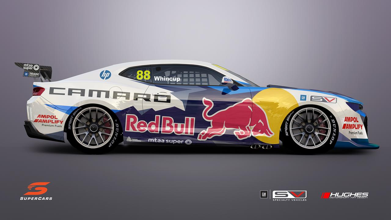 The new-look Camaro which will join the Supercars Championship in 2022.