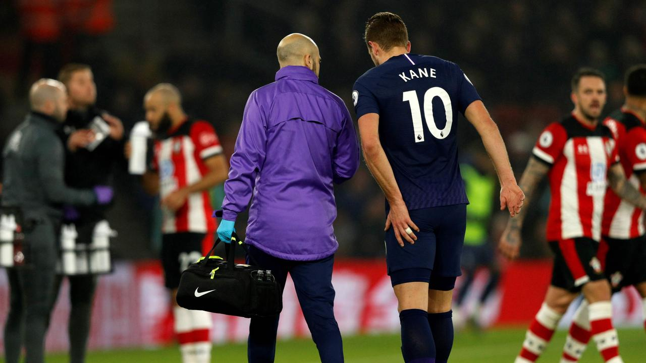 Kane has been sidelined since January with a hamstring problem