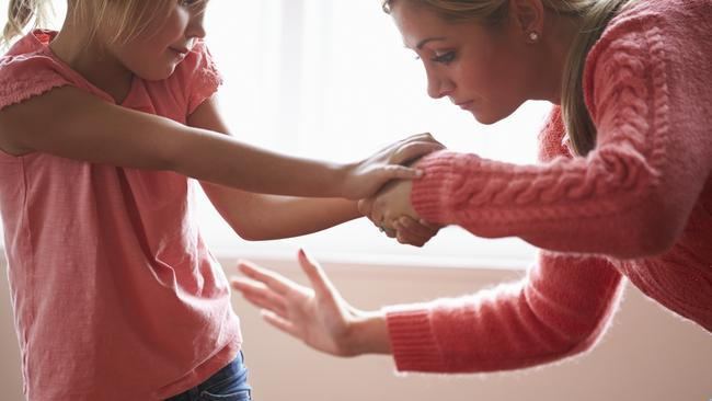 Australia is increasingly isolated in its approach to smacking — 49 countries have banned it.. iStock
